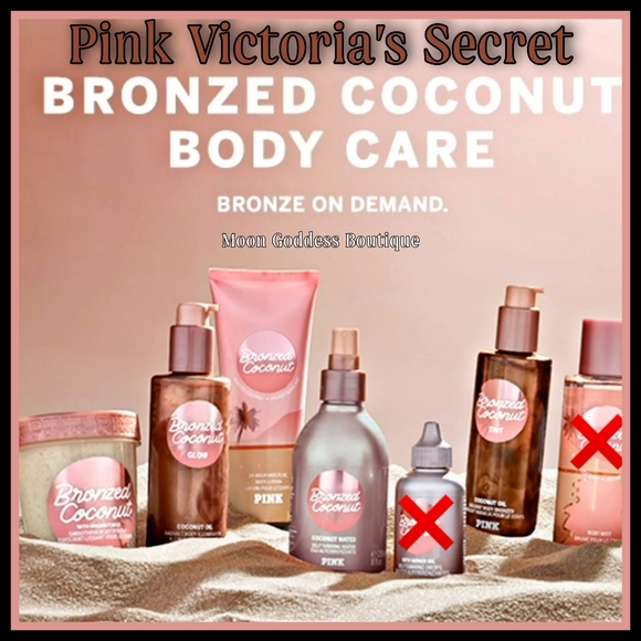 PINK Bronzed Coconut Radiant Body Care Set Of 5